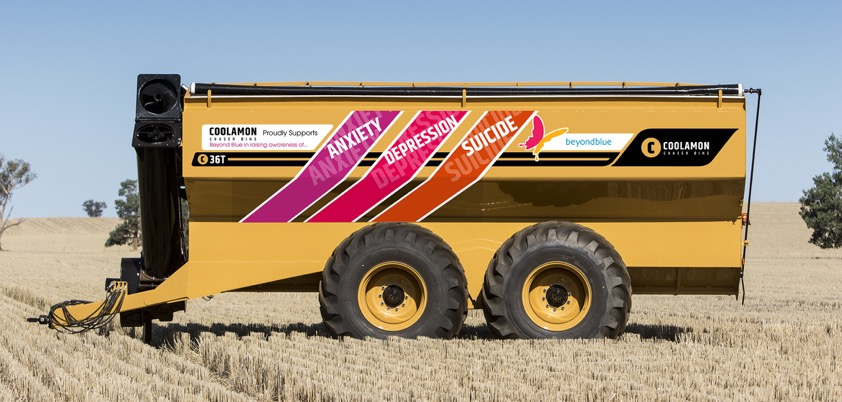 For every bin sold by Coolamon Chaser Bins at six national field days, the company will donate $1000 to charity.